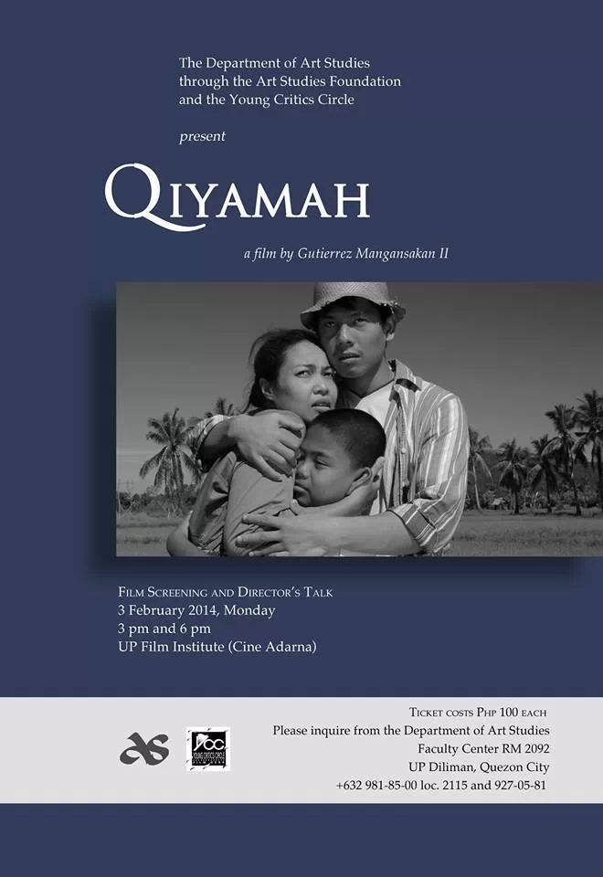 Qiyamah: A film by Gutierrez Mangansakan